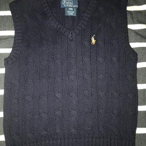 Polo Ralph Lauren Navy Blue Vest 24 months